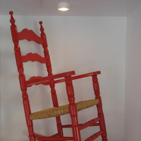 Produkte zu wohnen die kleinrichtung vintage design for Roter schaukelstuhl