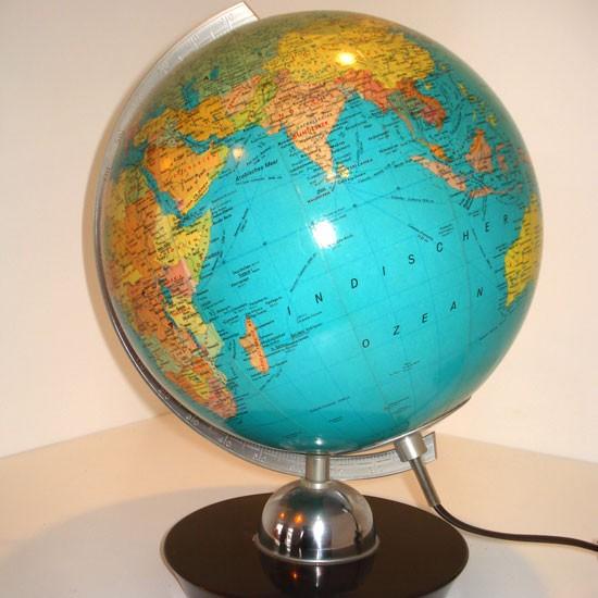cuby schwebender globus mit led leuchten c form magnetische weltkarte levitation schwebender. Black Bedroom Furniture Sets. Home Design Ideas